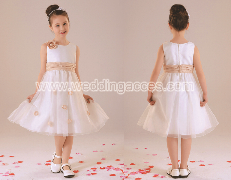 D3702The new flower girl dress  Girls' Dresses Girl Party Dress