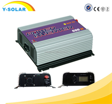 Y-SOLA 600W-LCD On-Grid Tie Inverter Pure Sine Wave190V200v220v230vEnergy Saving High Frequency Inverters for Solar Panel System