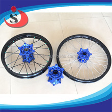 Assembly YZF 250 450 Off Road Motor Bike Wheel With Sprocket