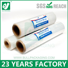 Self-adhesive Plastic Wrap Stretch Film Cheap Price For Manual LLDPE Stretch Wrap Film