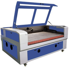 New design jinan fabric leather laser cutting machine with auto feeding device