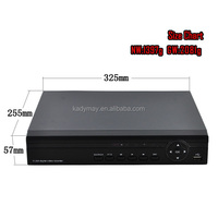 Best Sell !!! 16CH 720P AHD DVR with AHD IP and Analog