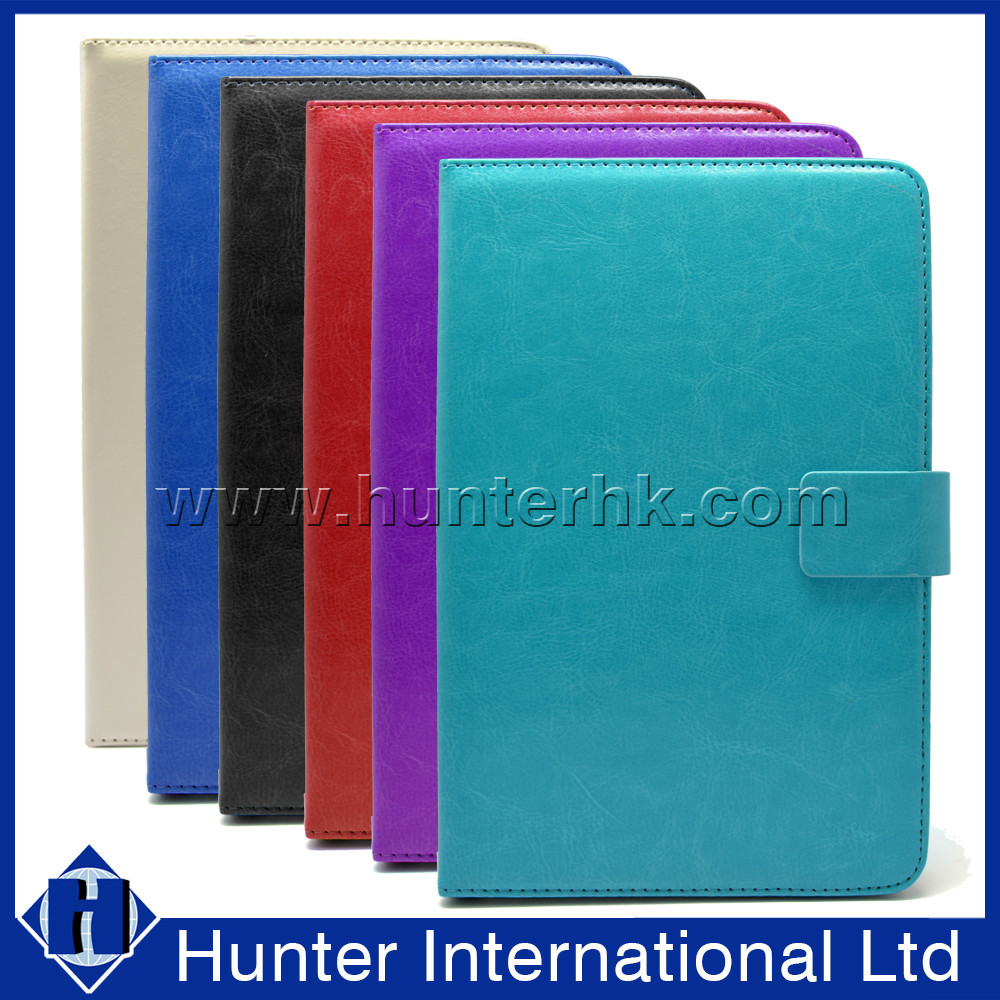 "Wholesale 10"" Universal Plain Crystal Flap Computer Case"
