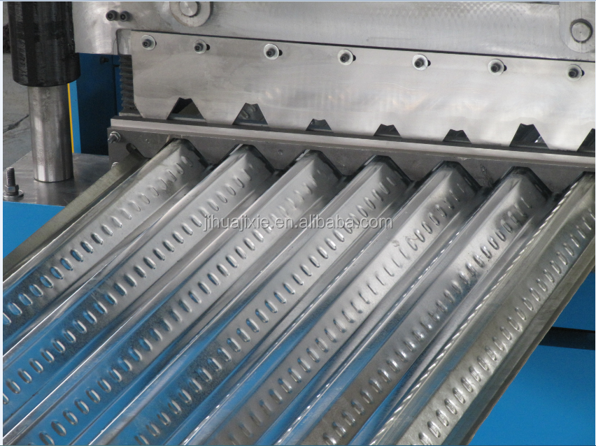 Full Automatic CE Standard Metal Profile Decking Roll Forming Machine Galvanized Floor Steel Decking Sheet