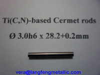 TiCN Cermet rods within 330mm for metal working hartmetall endmill higher cutting speed h6 tolerance Ni Co Alloy