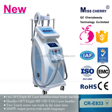 hair removal ipl elight laser 3in1 multi-functional beauty machine