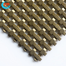 Professional Chinese Supplier Woven wire mesh Decorative Wire Mesh For Cabinets