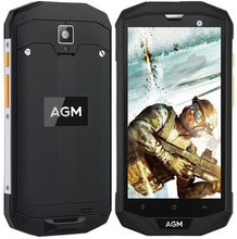 AGM A8 Waterproof Unlocked Phone Android 7 IP68 5 inch RAM 3GB ROM 32GB Qualcomm Quad Core 13MP 4G LTE GPS NPC Rugged Cell Phone