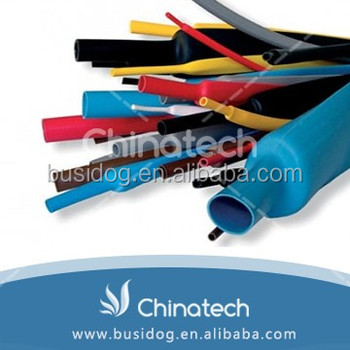 Hot sale 4:1 ratio insulation type 32mm black heat shrink tube