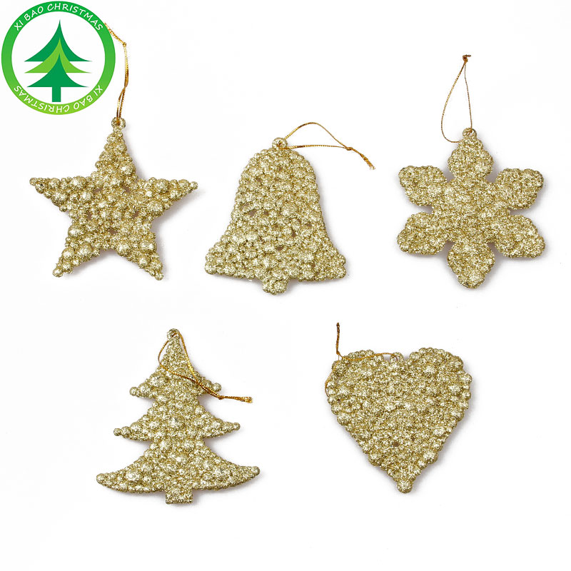Christmas Tree Decoration Plastic Xmas Tree Hang Ornament