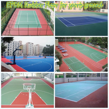 EPDM Rubber Flooring For Play Areas And Outdoor Sports Court -FN-D150309