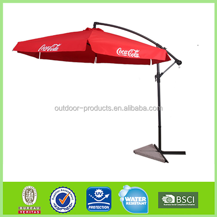China Manufacturer Cheap price Sun protection Big deco umbrella