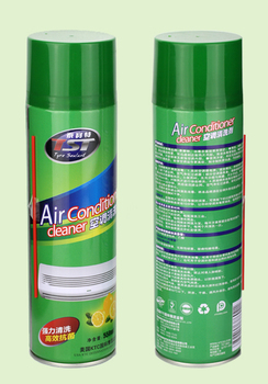 automotive air conditioner cleaner with aerosol cans