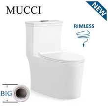 New type bathroom sanitary ware ceramic siphonic one piece toilet manufacturer - MUCCI