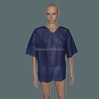 Medical nonwoven scrub suits for men