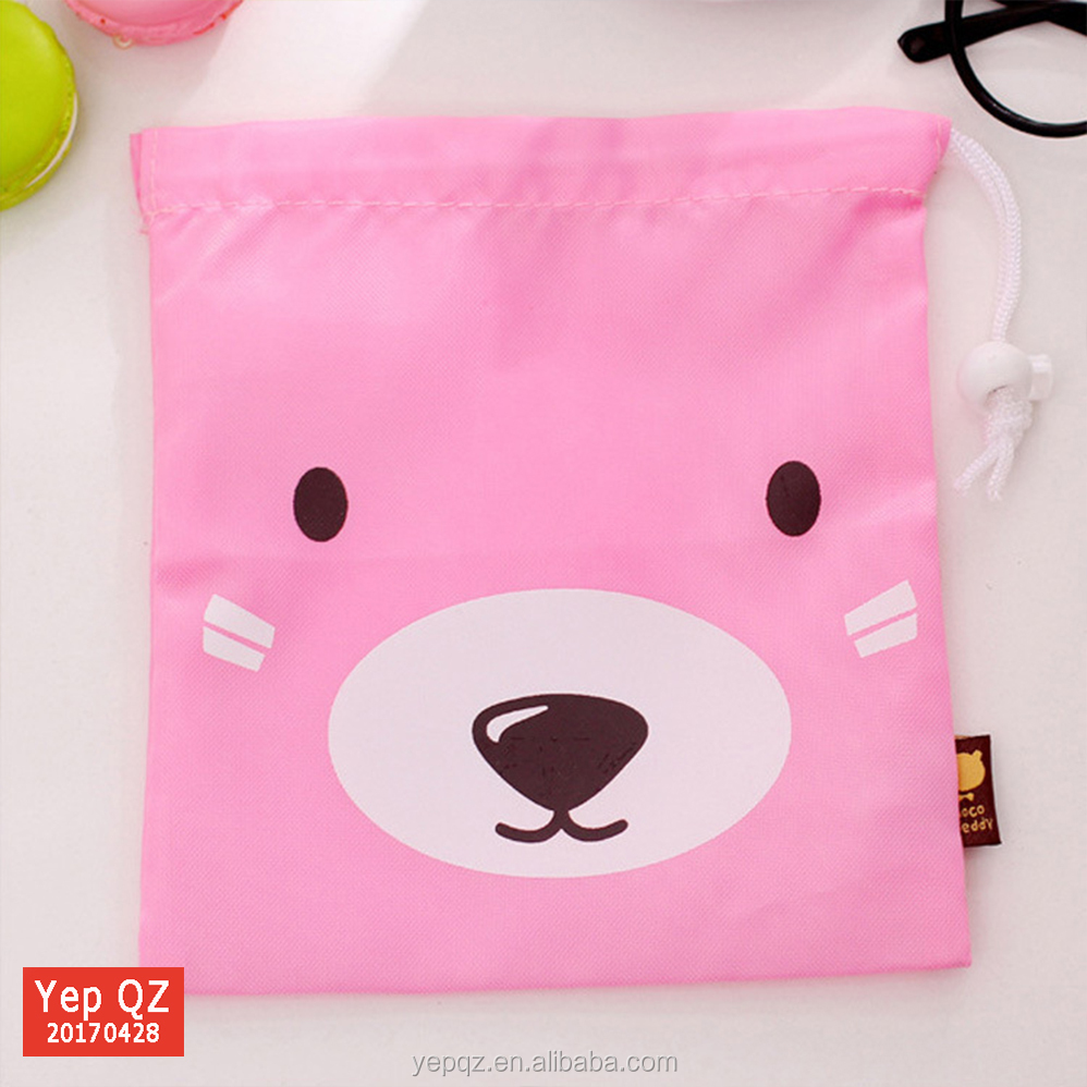 new products custom printed nonwoven drawstring bag