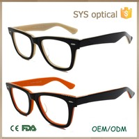 Acetate frame material and for reading glasses usage optical frames manufacturers in china