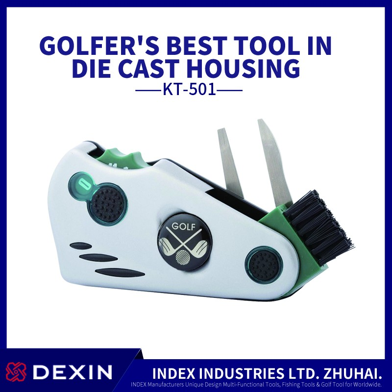 Golf ball marker and golf putter stents plastic pitchforks golf putter cover equipment tools
