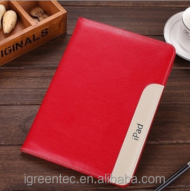 Slim Smart PU Leather Hard Cover Case For iPad Air 5/mini1/2/3 mini 4