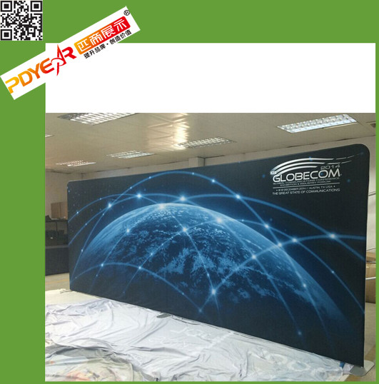 2016 collapsible backdrop Led spandex backdrop