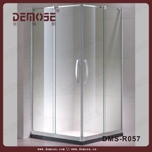 curve glass shower screen/round shower unit for bath