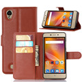 Flip Cover Case for ZTE X3 with Card Slots and Stand function, PU Leather Wallet Phone Case for ZTE X3