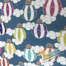 hot-air balloon design Waterproof Diaper PUL Fabric laminated fabric