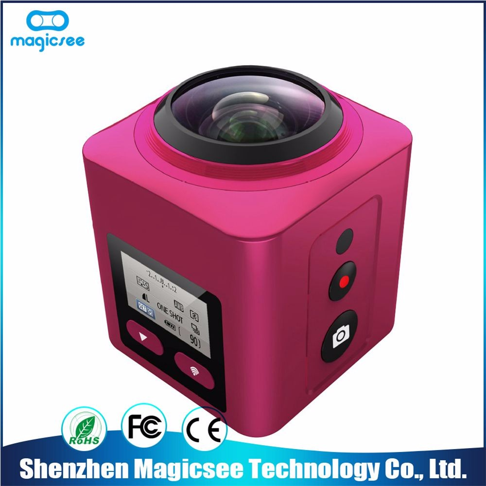 Fashionable design degree camera bird view system 360 sports camera 360