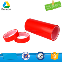 Waterproof double sided adhesive tape with plastic core