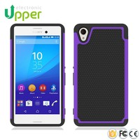 Soft silicone hybrid heavy duty shockproof tpu slim armor custom hard case back cover bumper case for sony xperia m4 aqua