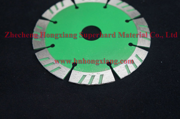 115mm turbo diamond saw blade for ceramic tile can be customized