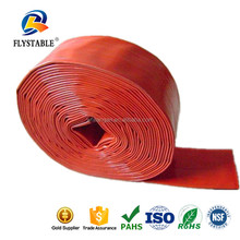 Hot selling custom rubber 6 inch pvc irrigation lay flat hose