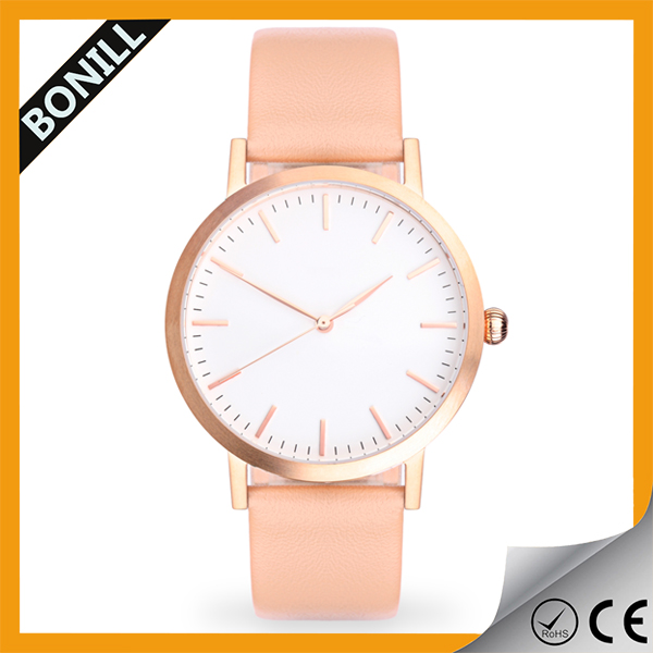 Good service design logo japan quartz movement wholesale women watch for promotion