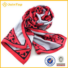 China factory for woman Scarf,Fashionable printed scarf, silk scarf