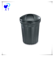 Street side roto mold plastic trash can
