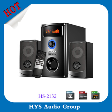 Professional 2.1 mega sound speaker,design box speaker sound system