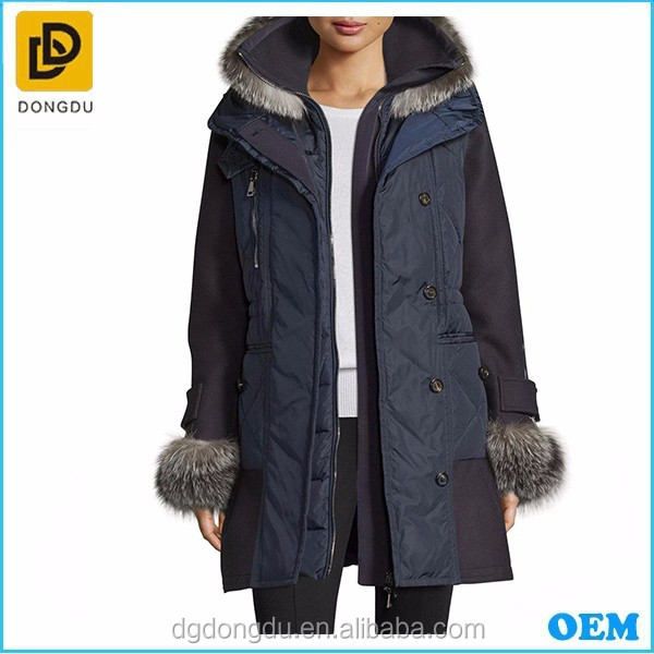 New fashion women down jacket for winters 2017
