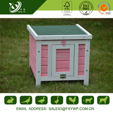 Solid Wooden Build Rabbit Cage For Outdoor Use