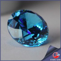 Synthetic Aquamarine CZ Blue Gemstone Names