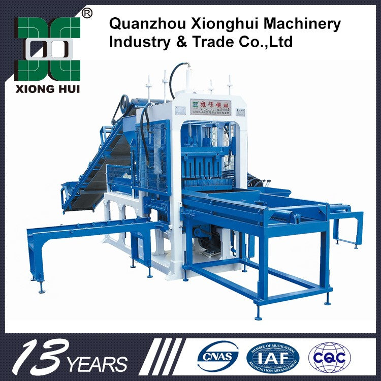Construction Equipment For Sale Block Concrete Block Making Machine Second Hand Low Investment