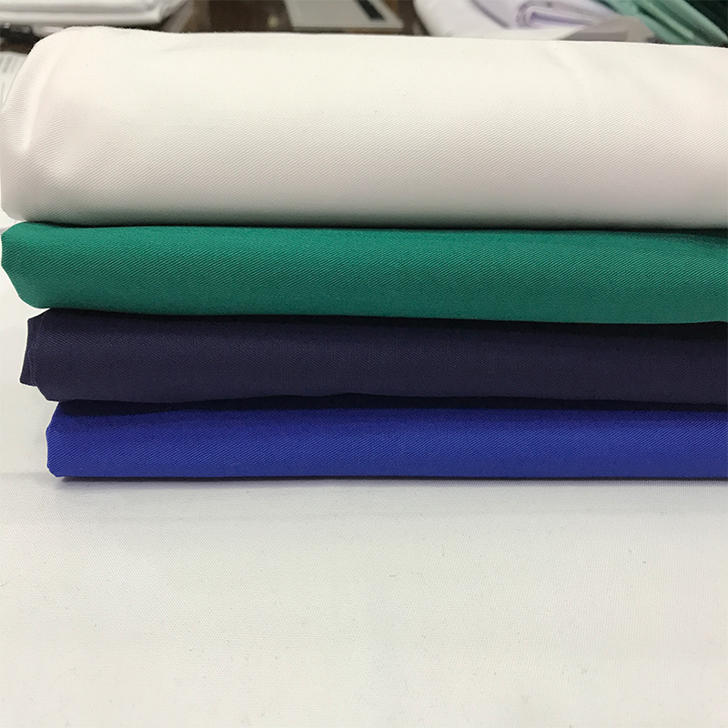 2017 hot sale TC Twill woven fabric for workwear uniform