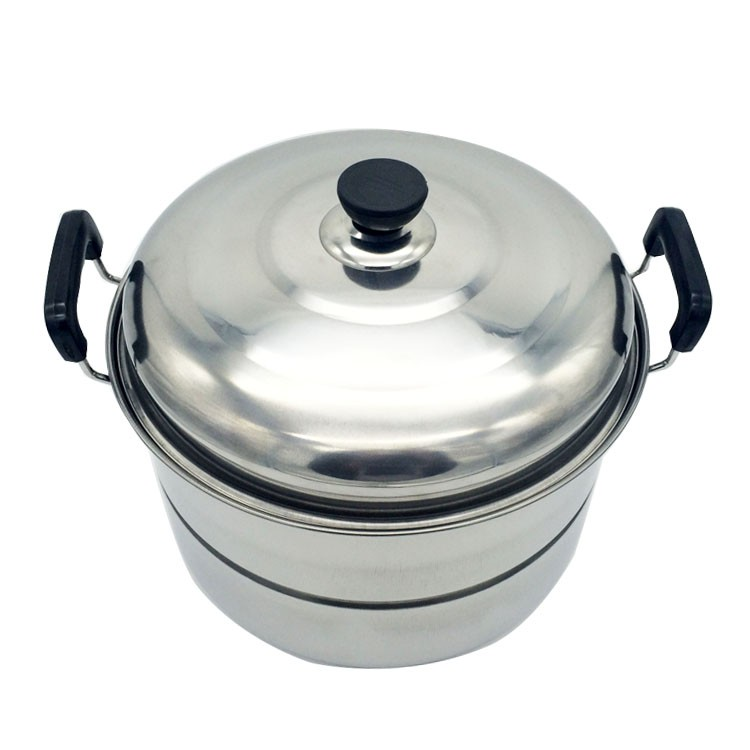 Wholesale Cooking Pot /Steam Pot Multilayer cookware set 2 tier steamer