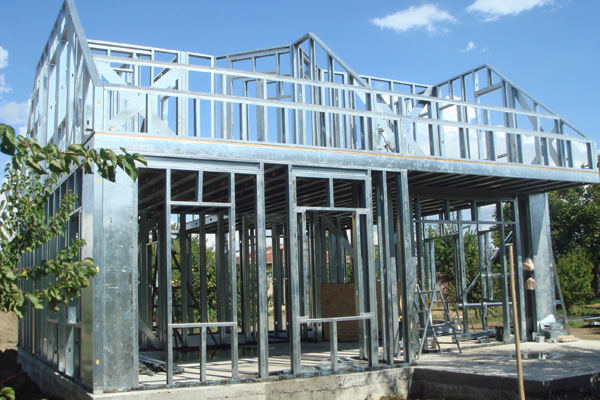 Light Steel Frame House High Quality China Prefabricated Houses