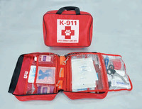 custom durable car emergency first aid kit fully stocked with high quality medical supplies, perfect for outdoor,home,sports
