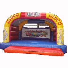 hot sale Adults / Kids Disco inflatable bouncer jumper/ jumping bouncy castle/ moon bounce house supplier