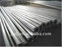 galvanized steel light pole/octagonal steel poles with specification