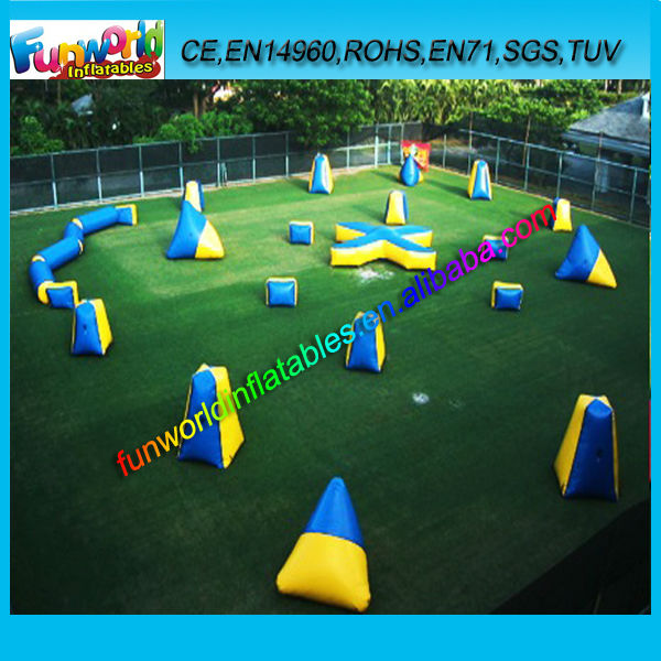 Outdoor Funny Game Inflatable Air Bunker Paintball for Sale (FUNPB1-009)
