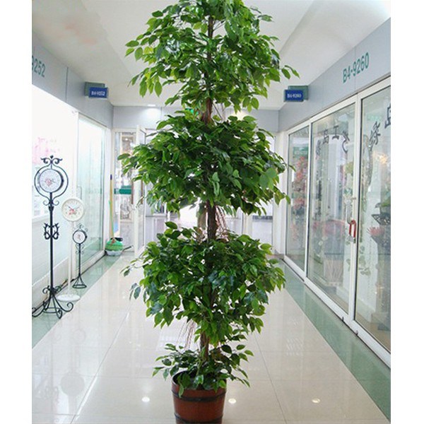 Hot Sale Factory Price New Artificial Mini Palm Tree for Indoor Decoration