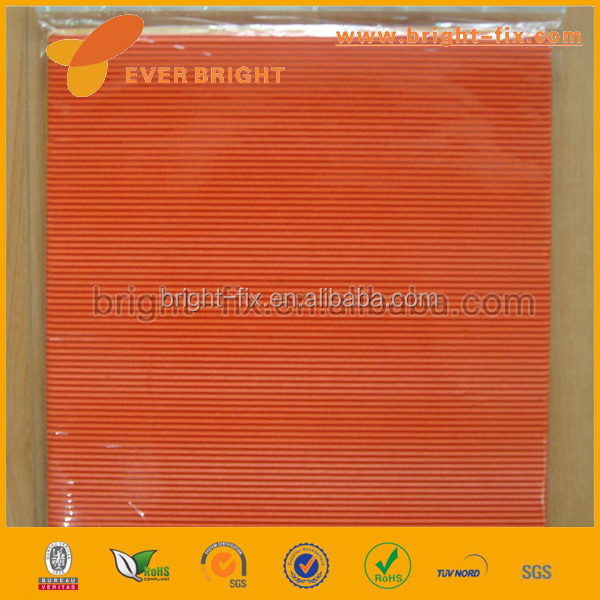 Diy toys color corrugated paper/corrugated paper rolls/A3 A4 A5 fluting and testliner paper
