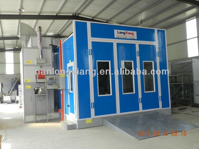 small paint spray booth Painting room Spray cabin LY-8700 Infrared spray paint booth